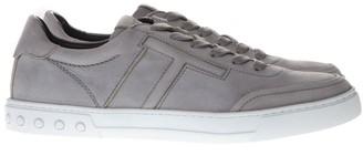 Tod's Tods Gray Nabuk Sneaker