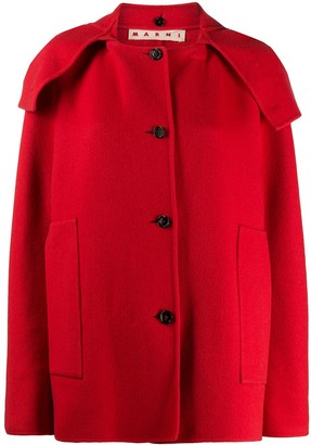 Marni Cashmere Short Buttoned Coat