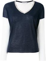 Giada Benincasa - v-neck sweater - women - Cashmere/Silk/Viscose/Polyester - S