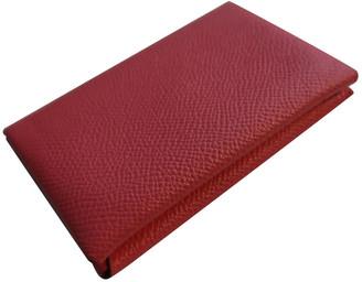 Hermã ̈S HermAs Calvi Pink Leather Purses, wallets & cases