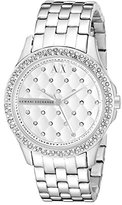 Armani Exchange Women's AX5215 Silver Watch