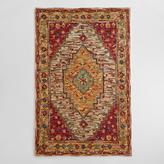 Cost Plus World Market Zahra Caravan Tufted Wool Area Rug
