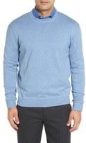 Robert Talbott Men's 'Jersey Sport' Cotton Blend Crewneck Sweater