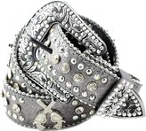 Deal Fashionista DF Western Cowgirl Six-Shooter Bling Rhinestone Belt