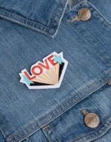 Orelia One Love Embroidery Badge