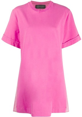 Mr & Mrs Italy pleated short-sleeve T-shirt dress