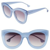 Alice + Olivia Women's Madison 56Mm Cat Eye Sunglasses - Cornflower