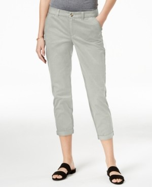 Maison Jules Slim Ankle Pants, Created for Macy's
