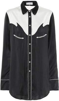 Paco Rabanne Satin shirt