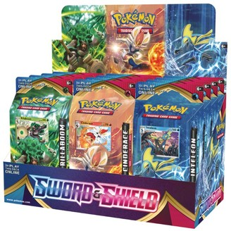 Pokemon Sword and Shield Trading Card Deck