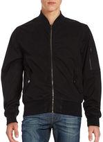 Hudson Cotton-Blend Bomber Jacket