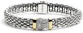 Lagos Women's Diamond & Caviar Rope Bracelet