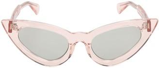 Cat Eye Y3 Shiny Light Pink Sunglasses