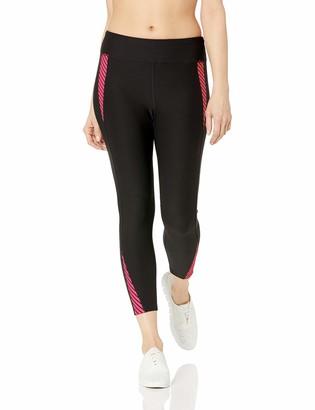 Spalding Women's Stripe Overlay Block Crop Legging