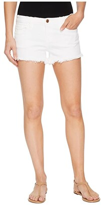 Blank NYC Cut Off Shorts in Great White (Great White) Women's Shorts