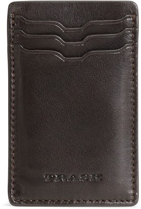 Trask Dawson Leather Front Pocket Wallet