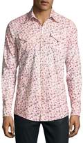DSQUARED2 Floral-Print Western Shirt