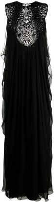 Alberta Ferretti Embellished Maxi Dress