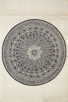 Urban Outfitters Florisse Printed Round Rug