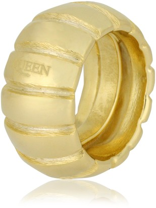 Queen Bijoux Women s Fine Metal Ring Size Q/R (18.5 MM) Q-R- 00258