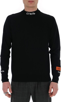 Heron Preston Mock-Neck Sweater