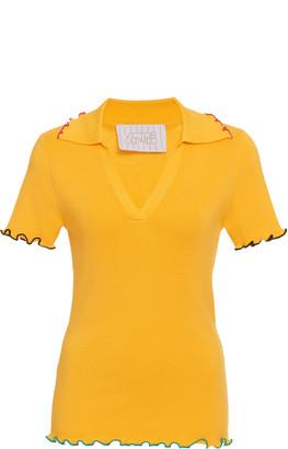 Victor Glemaud Merino Wool Polo Shirt