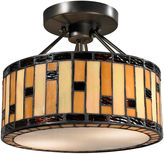Dale Tiffany Dale TiffanyTM Mojave Semi Flush Mount
