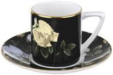 Ted Baker Rosie Lee Espresso Cup & Saucer - Black
