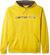 Carhartt Men's Big & Tall Force Extremes Signature Graphic Hooded Sweatshirt