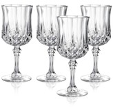 Longchamp Cristal D'Arques Set of 4 Wine Glasses