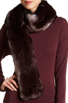 Dena Faux Fur Reversible Scarf