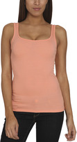 Arden B Ribbed Double Scoop Tank