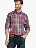 Lucky Brand Washed Indigo Mason Workwear Shirt