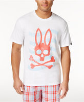 Psycho Bunny Men's Sleepwear Graphic-Print Logo T-Shirt