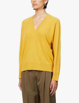 Rag & Bone Gio V-neck cashmere jumper