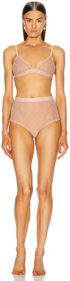 Gucci Lingerie Set in Pale Pink | FWRD
