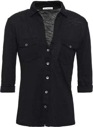 James Perse Supima Cotton-jersey Shirt