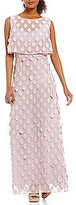 Eva Franco Pop Over Chiffon Maxi Dress
