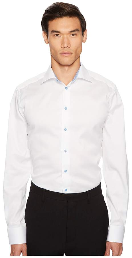 Eton Contemporary Fit Cuff Detail Shirt Men's Clothing