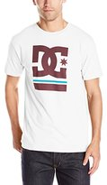 DC Men's Bar Star Short Sleeve Screen Tee
