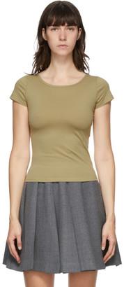 Maryam Nassir Zadeh Beige Astrid T-Shirt