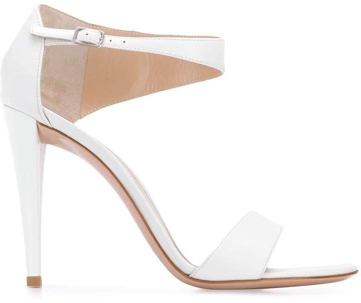 Heel Uk White Women 54lr3aqj For Sandals Shopstyle High zLqSVMUpG