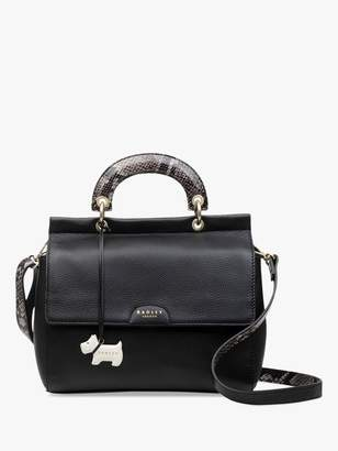 Radley Lime Avenue Leather Small Cross Body Bag