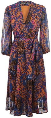 Biba Animal Midi Dress
