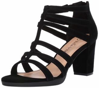 Bella Vita Women's Leah Sandal with Back Zipper Shoe