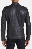 Diesel 'Lepradis' Leather Moto Jacket