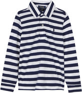 Ralph Lauren Striped long-sleeve polo shirt 2-7 years