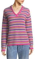 Marc Jacobs Stripe Cashmere Knit Sweater