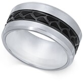 Thumbnail for your product : Sutton by Rhona Sutton Men's Stainless Steel Tire Tread Ring