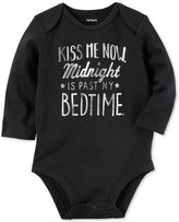 Carter's Midnight Is Past My Bedtime Cotton Bodysuit, Baby Boys & Girls (0-24 months)